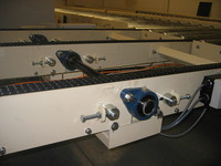 Dairy pallet conveyors